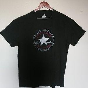 Converse Mens Tshirt Black in XL